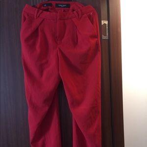 Loose fit  boyfriend trousers